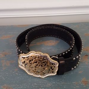 Express Leather Western Belt